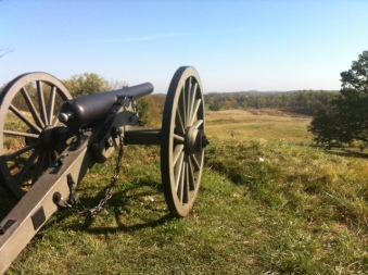Gettysburg Cannon, photo by JPO'B