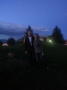 Laura and Garret